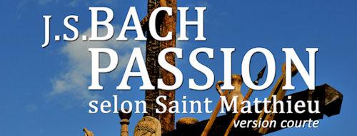 J.S.Bach Passion samedi 17 février à 17h30 église St Hippolyte